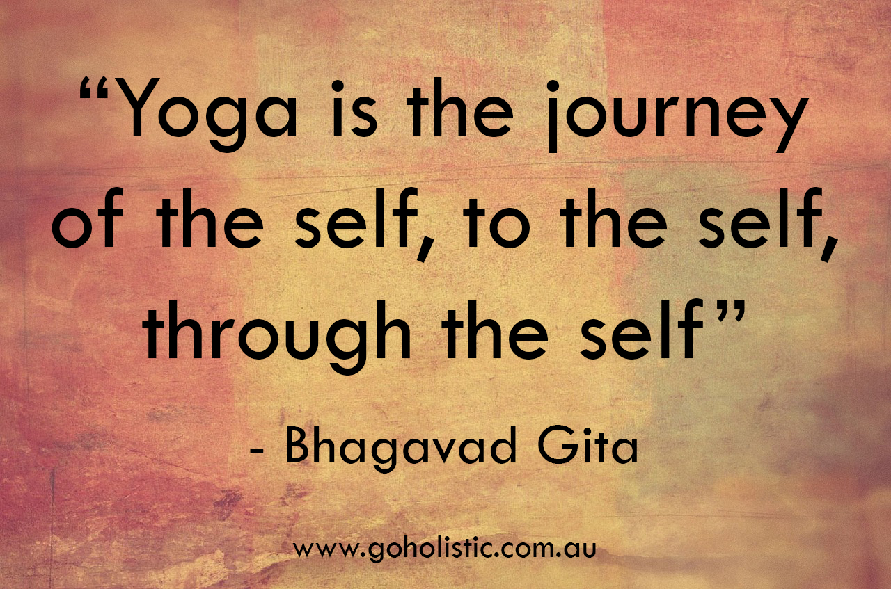 Yoga is a journey