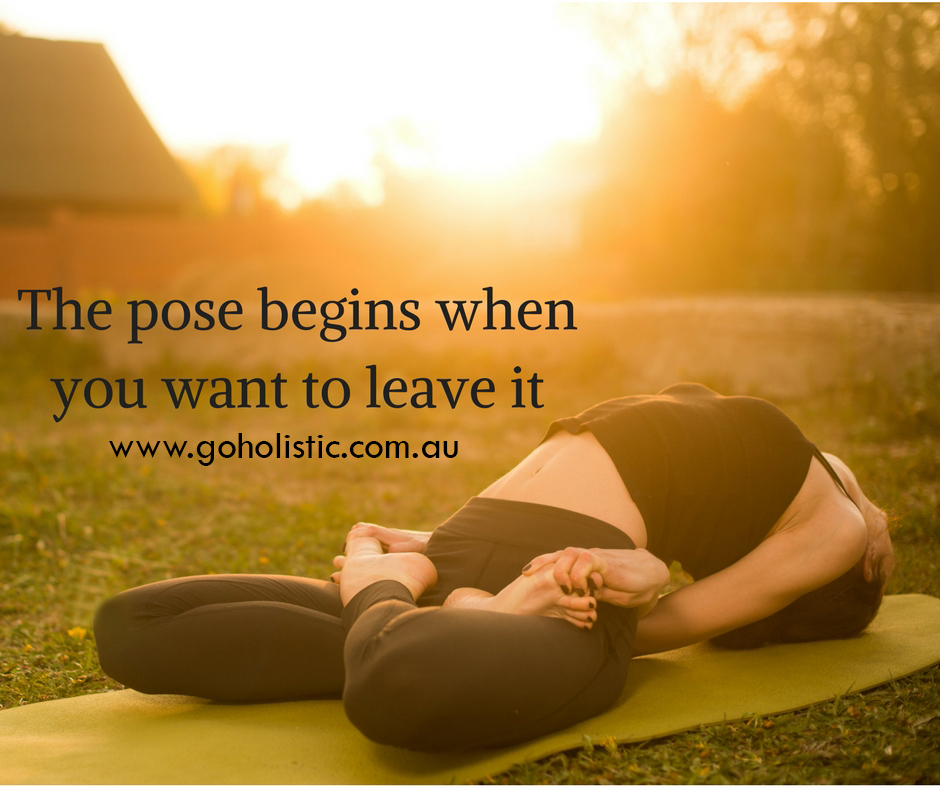 The Pose Begins When You Want It To…