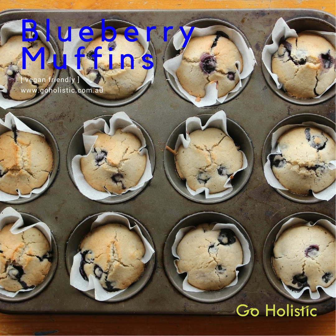 Blueberry Muffins!