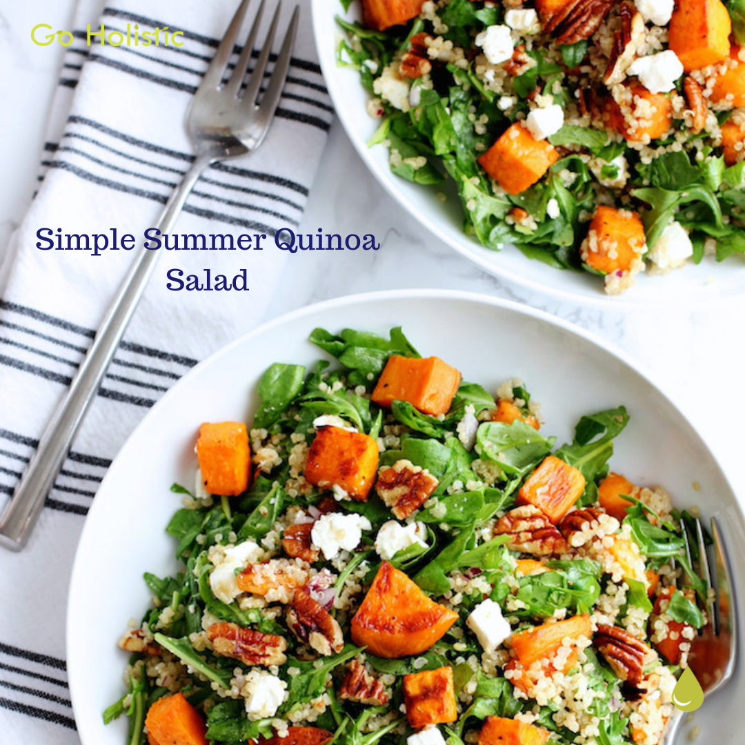 Simple Summer Quinoa Salad